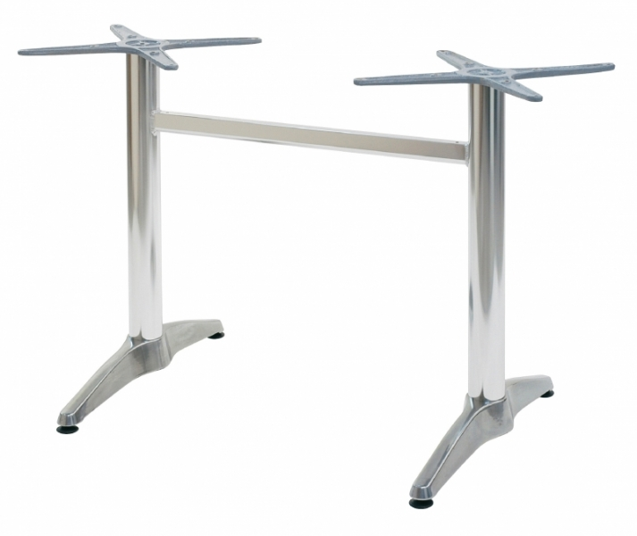 Pied de Table Alu en u Pied de Table Double en