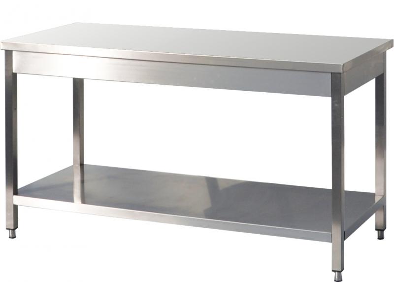 Table de jardin inox conceptions de maison for Table exterieur inox
